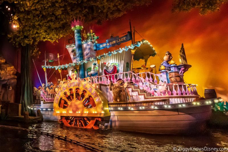 Refurbishments at Disney World in February