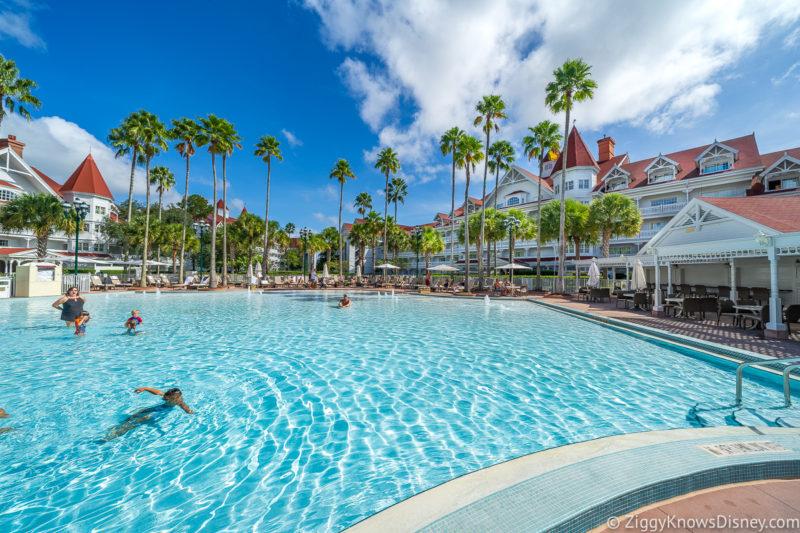 Pool at Disney's Grand Floridian Resort