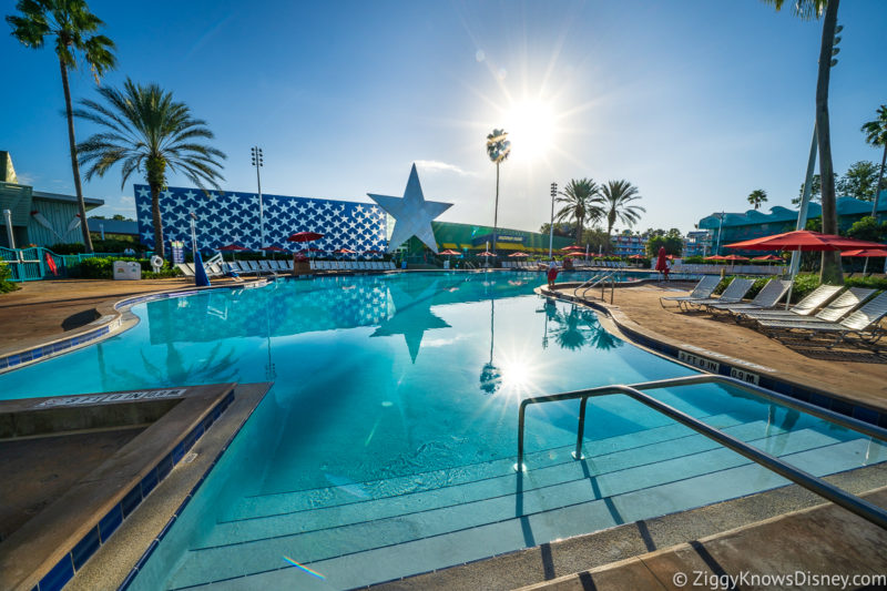 Can you swim at Disney World in January