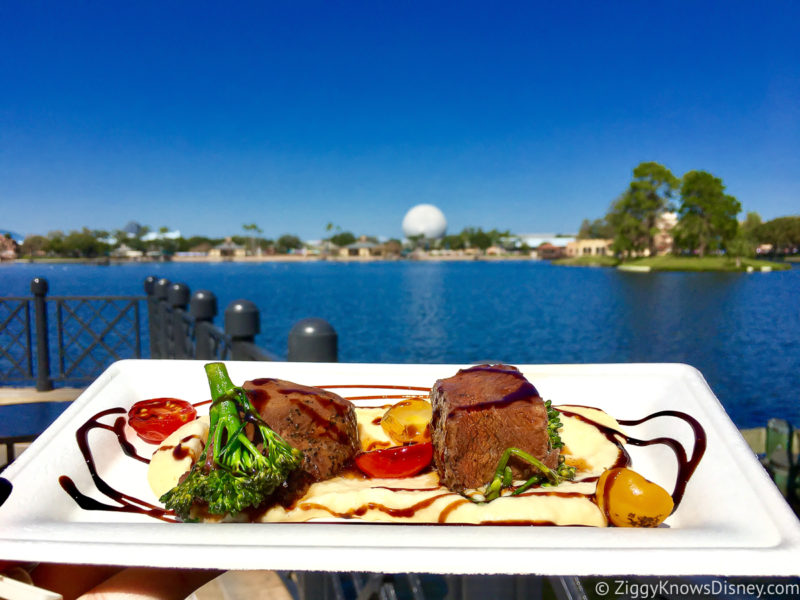 EPCOT Festival of the Arts food