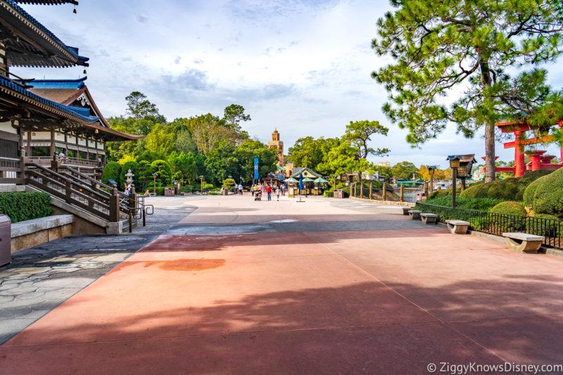 Crowds at Walt Disney World in January