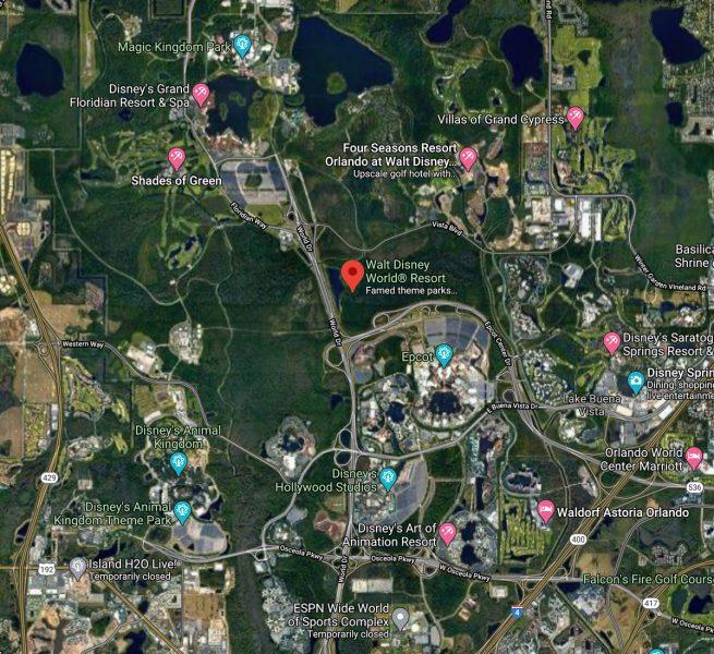 Walt Disney World Location