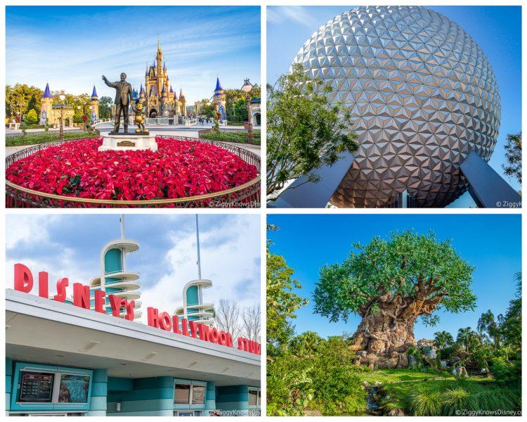 Disney World 4 Theme Parks