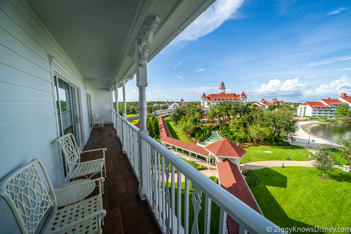 Grand Floridian Resort view from 2 Bedroom Villa