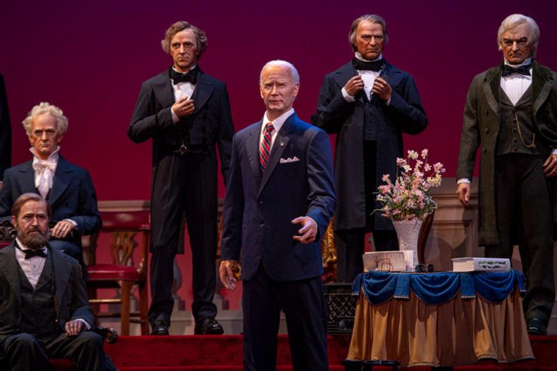 Joe Biden Animatronic Hall of Presidents
