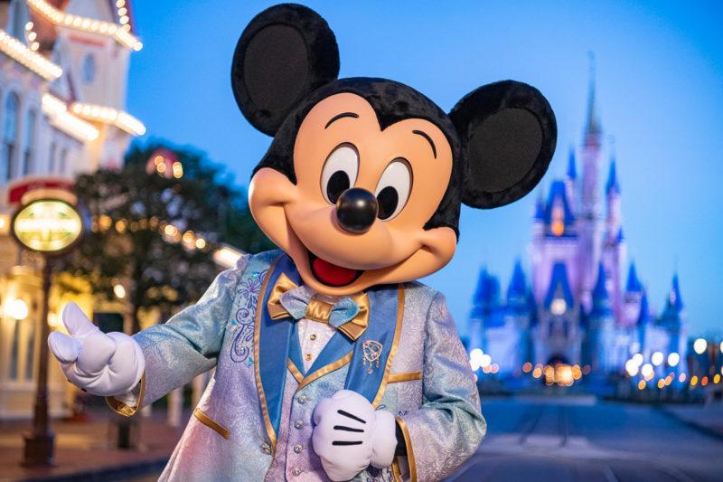 Mickey Mouse Walt Disney World 50th Anniversary