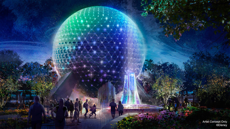 Spaceship Earth Walt Disney World 50th Anniversary