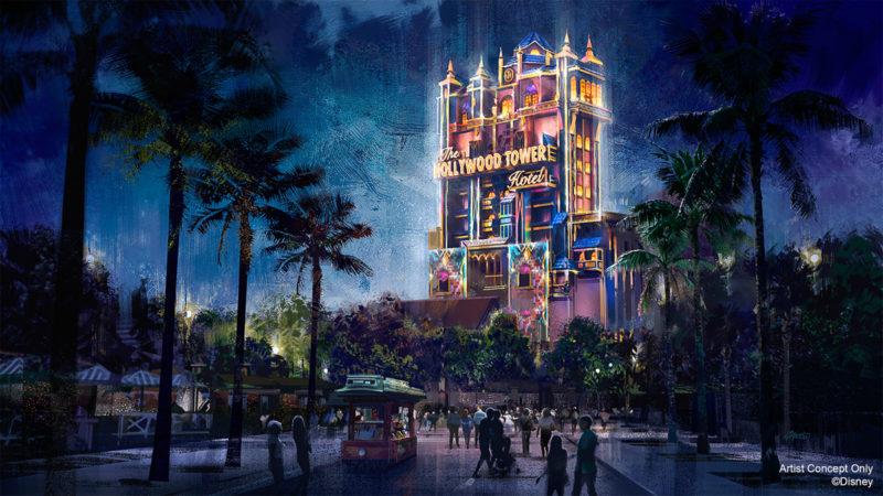 Tower of Terror Walt Disney World 50th Anniversary