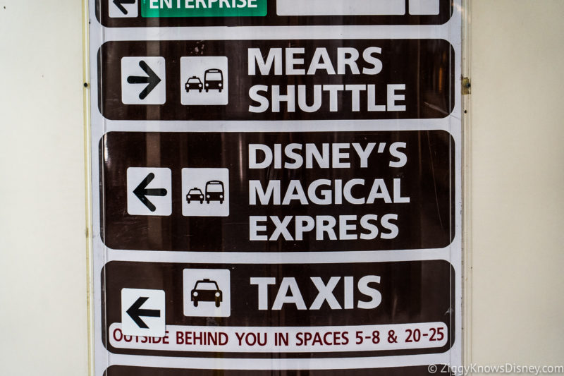 Transportation to Disney World Cost