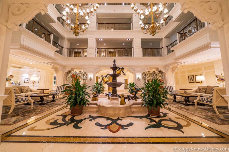 Grand Floridian Resort Villas Lobby