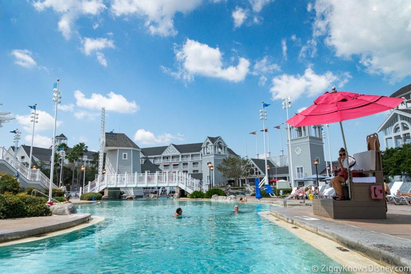 Disney World Pool in March