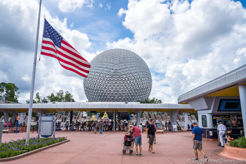 Getting park tickets at Disney World in March
