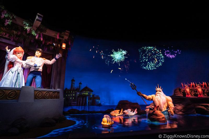 Journey of the Little Mermaid ending scene