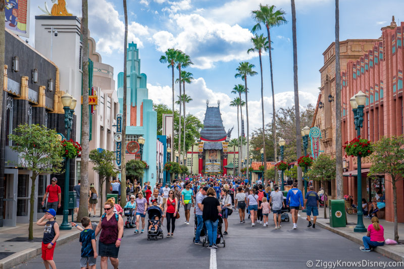 Crowds at Disney World in March