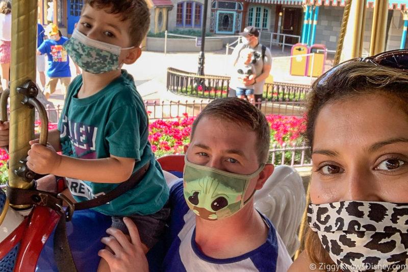 Face Masks at Disney World