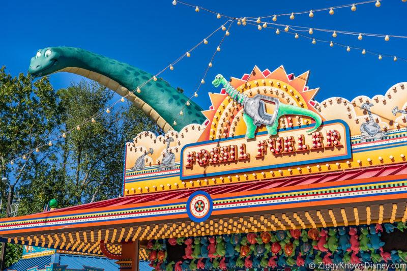 Fossil Fun Games Disney's Animal Kingdom Rides
