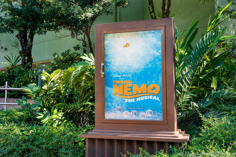 Finding Nemo the Musical Animal Kingdom Rides