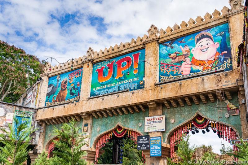 UP! a Great Bird Adventure Animal Kingdom Attractions