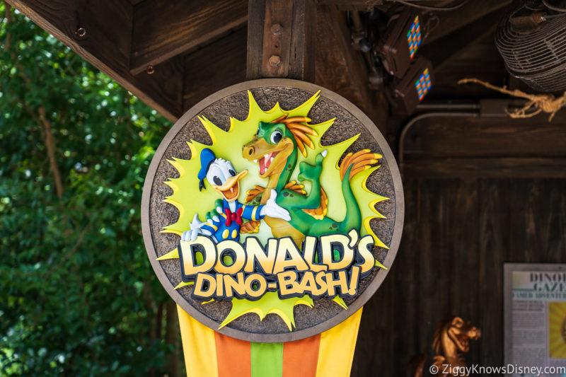 Donald's Dino-Bash Animal Kingdom