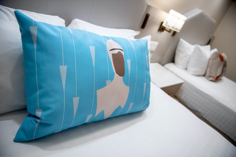Frozone pillows Incredibles rooms