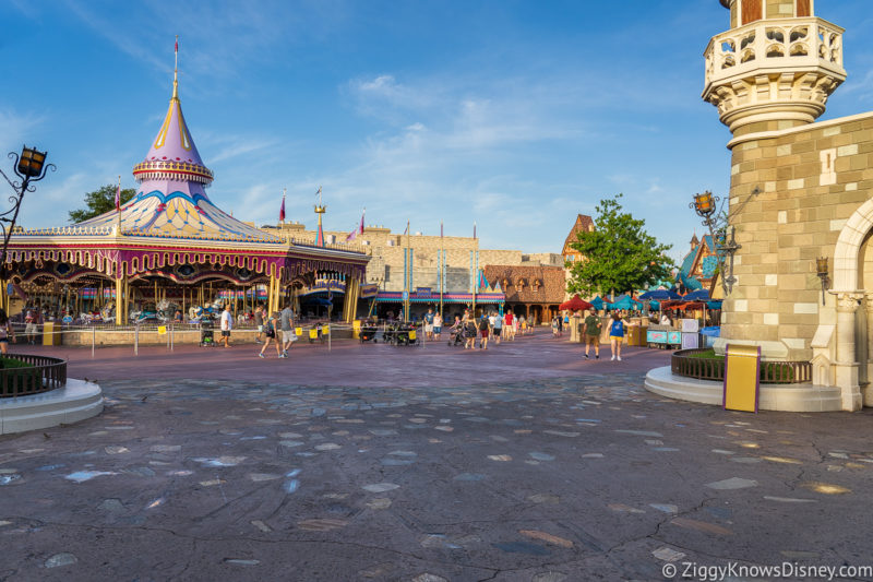 Go to the parks early in April
