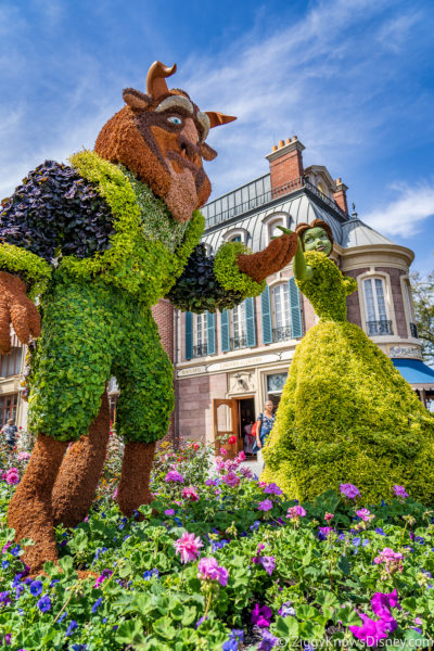 Flowers in April at Disney World