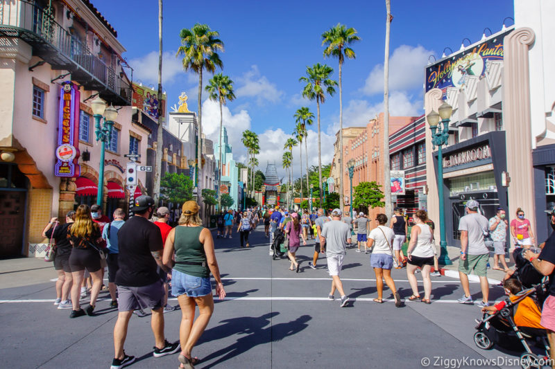 How busy is Disney World in April
