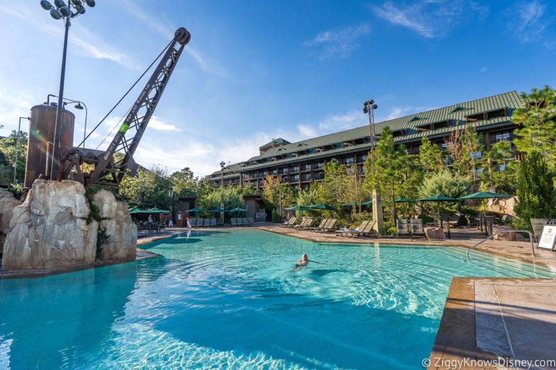 Disney's Wilderness Lodge Villas Swimming Pool