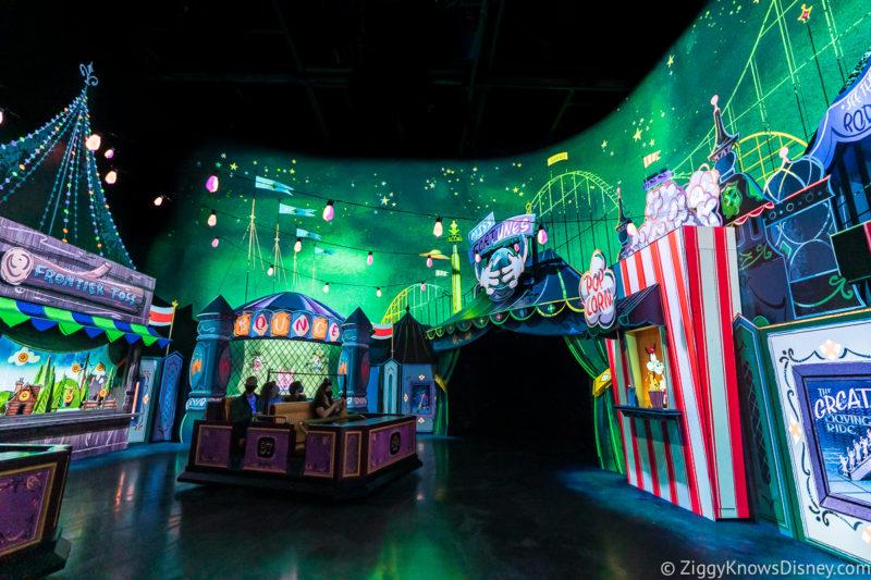 Mickey and Minnie's Runaway Railway at Disney World