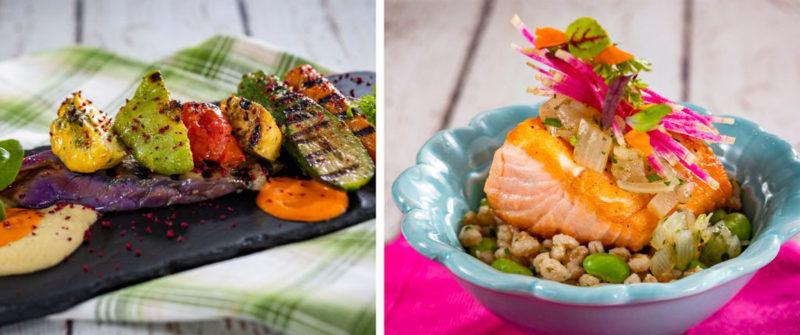 EPCOT Flower and Garden Festival Flavor Full Kitchen Menu