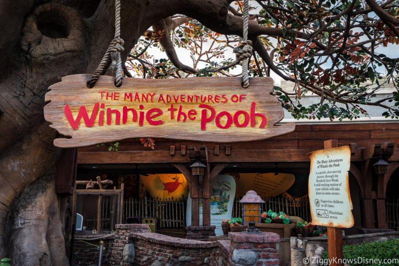 The Many Adventures of Winnie the Pooh Magic Kingdom Rides