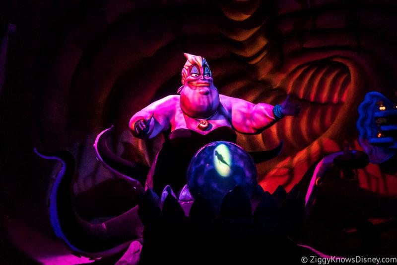 Under the Sea - Journey of the Little Mermaid Magic Kingdom Fantasyland