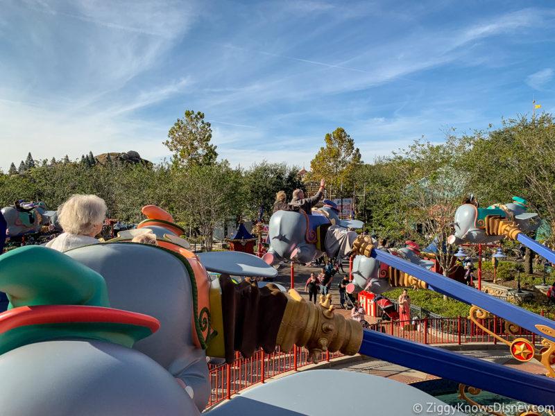 Dumbo the Flying Elephant Fantasyland