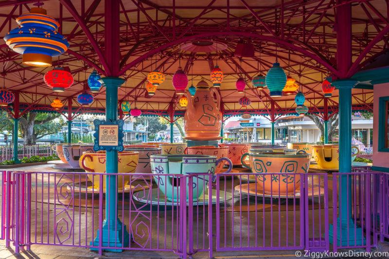 Mad Tea Party Magic Kingdom attraction