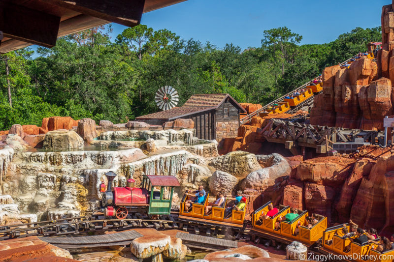 Magic Kingdom Rides Big Thunder Mountain