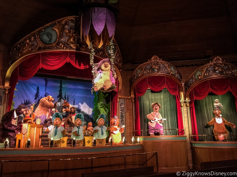 Country Bear Jamboree Magic Kingdom