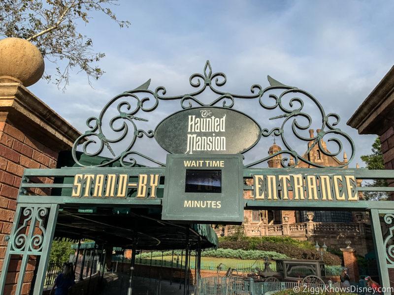 Haunted Mansion entrance Magic Kingdom