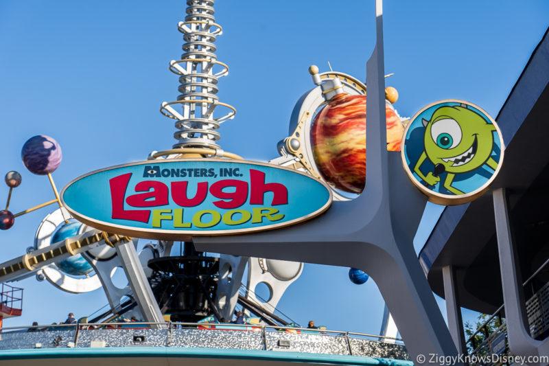 Magic Kingdom Rides Monsters Inc. Laugh Floor