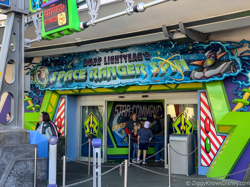 Buzz Lightyear's Space Ranger Spin Magic Kingdom