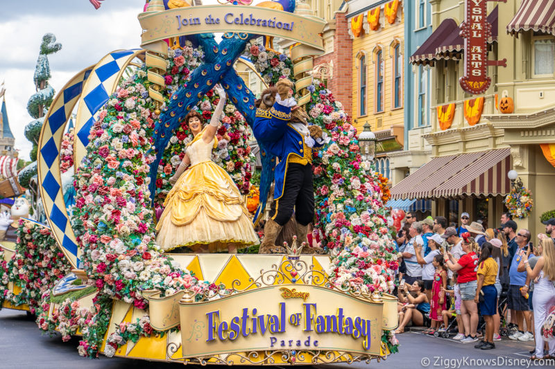 Festival of Fantasy Parade Magic Kingdom