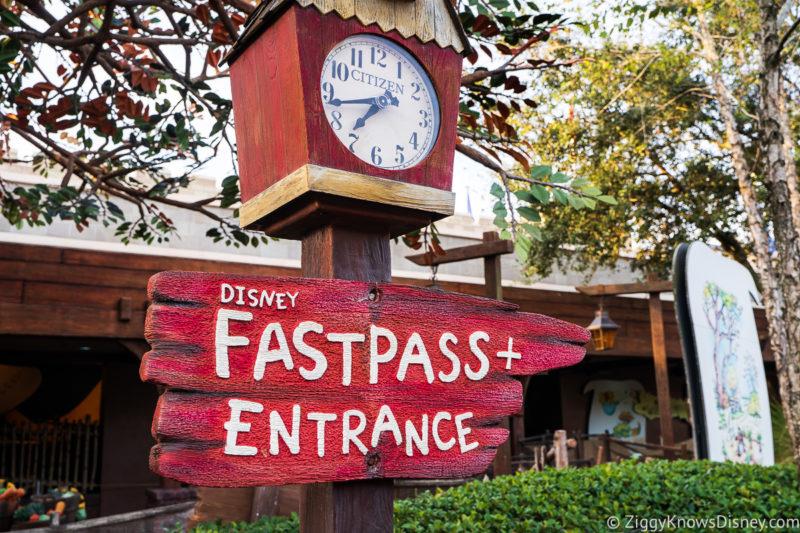 FastPass+ at Disney's Magic Kingdom