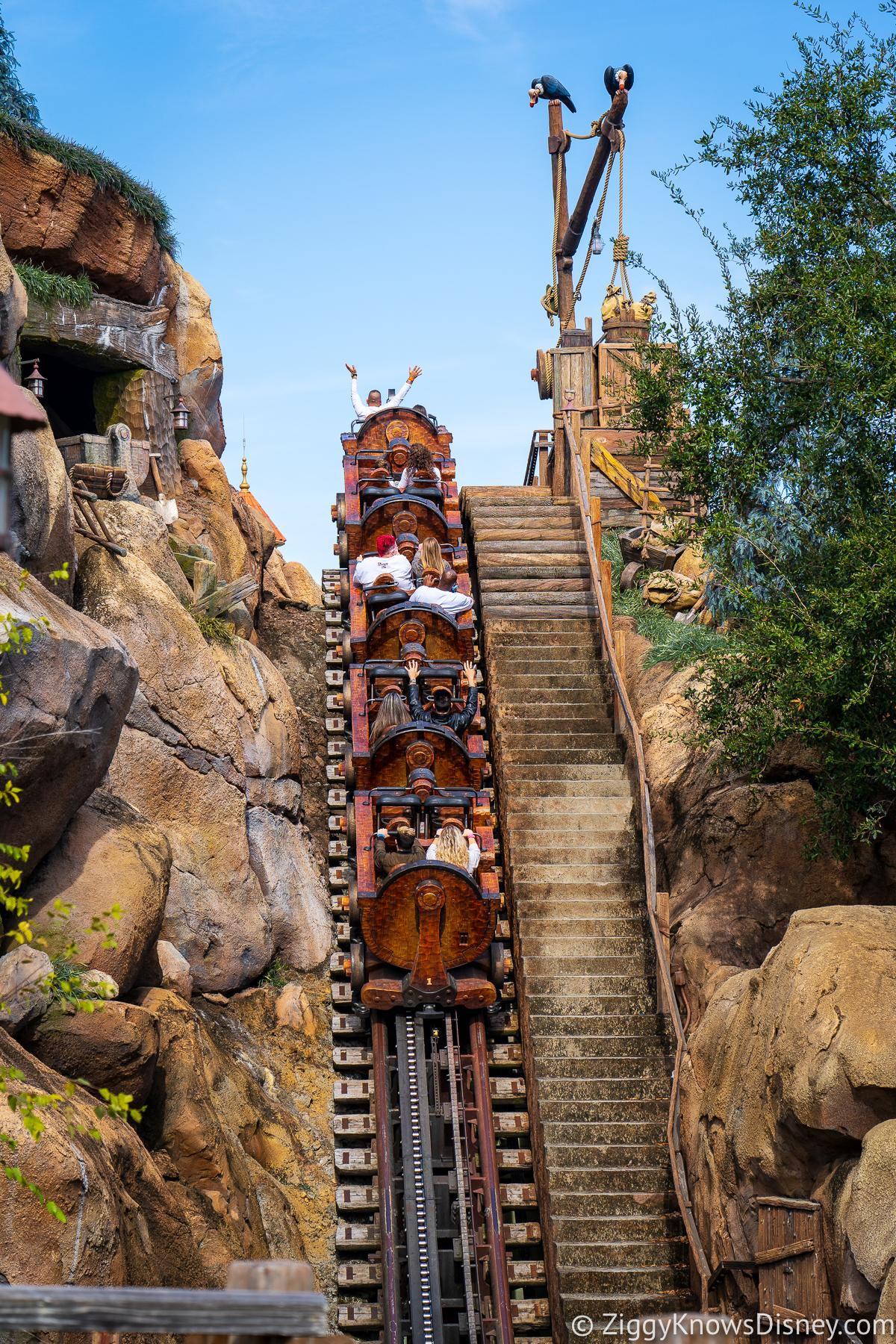 Rides at Magic Kingdom