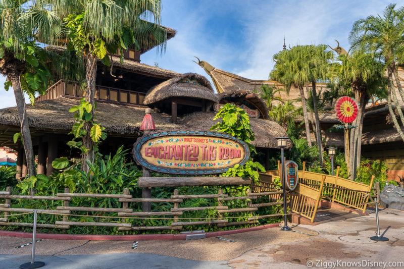 Enchanted Tiki Room Magic Kingdom