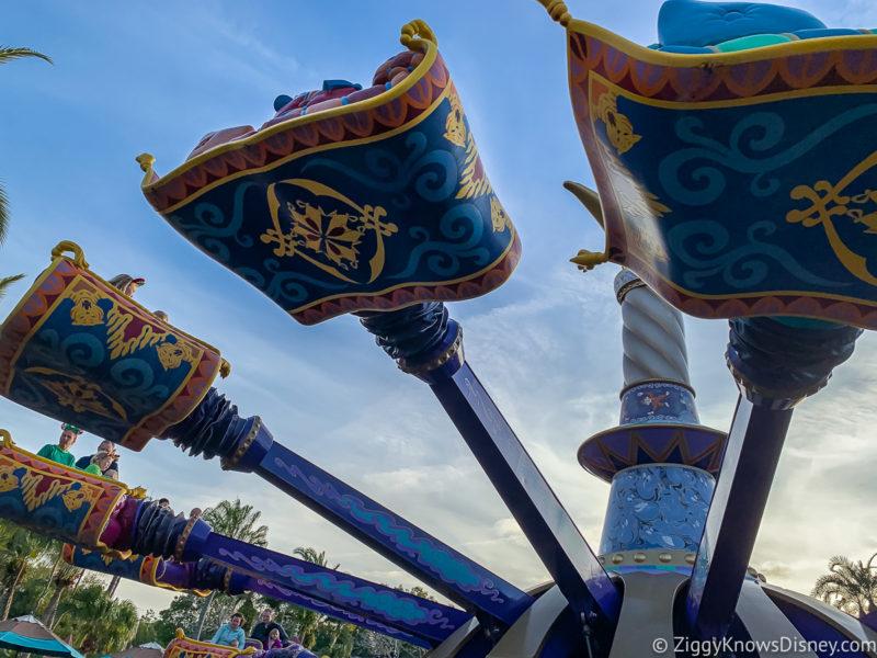 The Magic Carpets of Aladdin Magic Kingdom Rides