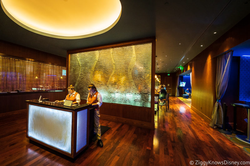 The Wave Restaurant Disneys Contemporary Resort