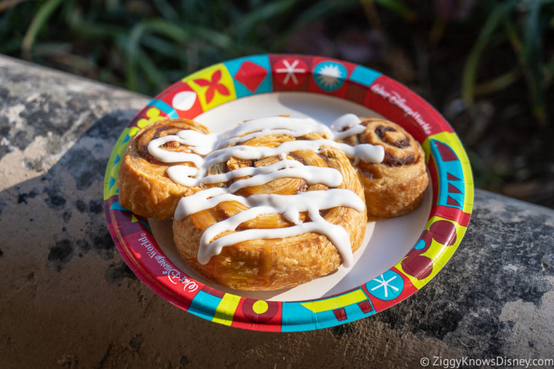 Colossal Cinnamon Roll Mickey Mouse Best Snacks at Animal Kingdom