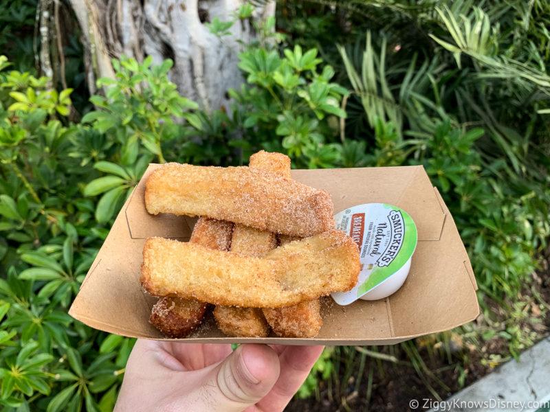 Best Snacks at Animal Kingdom French Toast Sticks