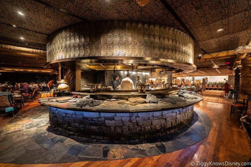 Ohana Polynesian Resort Grill