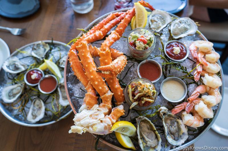 Raw Seafood platter Paddlefish Disney Springs
