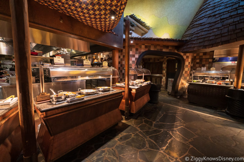 Buffet at Boma Animal Kingdom Lodge